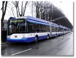 riga trolley bus