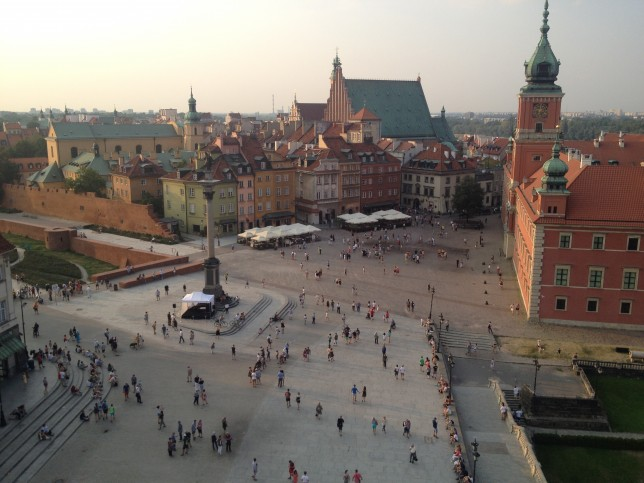 Varsavia_old town dalla torre