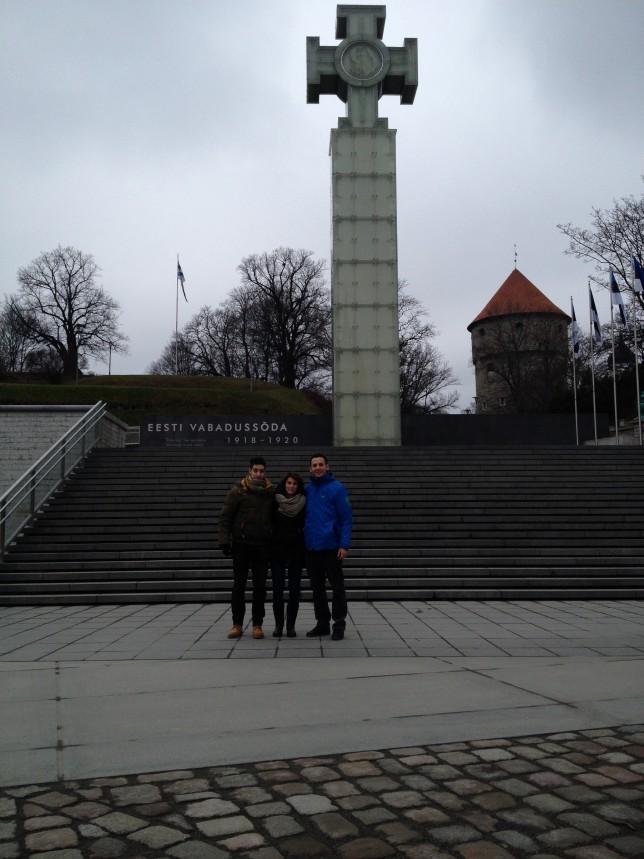 Tallinn colonna della libertà